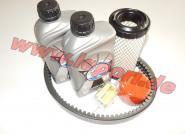 Microcar Due First mit Lombardini LDW 502 - Großes Inspektionspaket